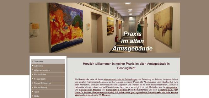 Praxis im alten Amtsgebäude, Dr. Frauke Bohlmann, Bönningstedt