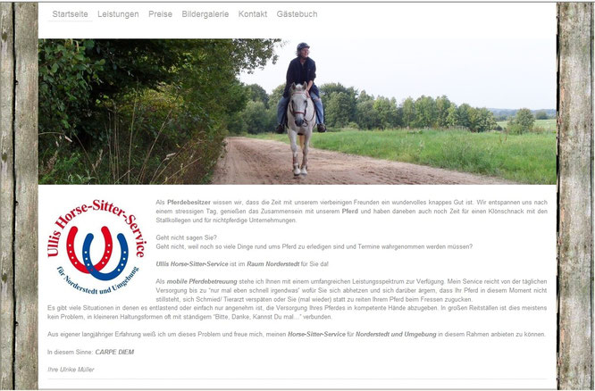 Ullis Horse-Sitter-Service 2013