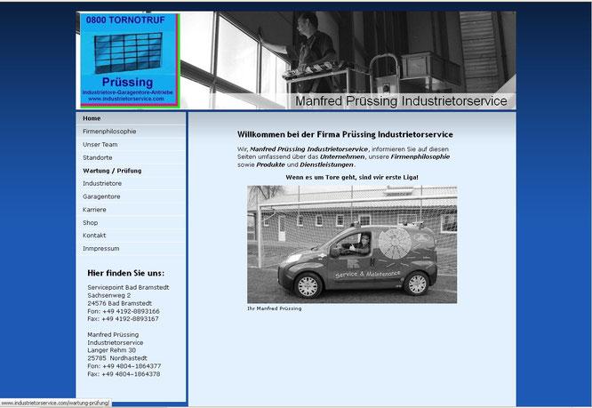 Manfred Prüssing Industrietorservice 2012