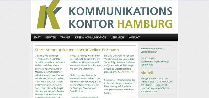 Kommunikationskontor Volker Bormann
