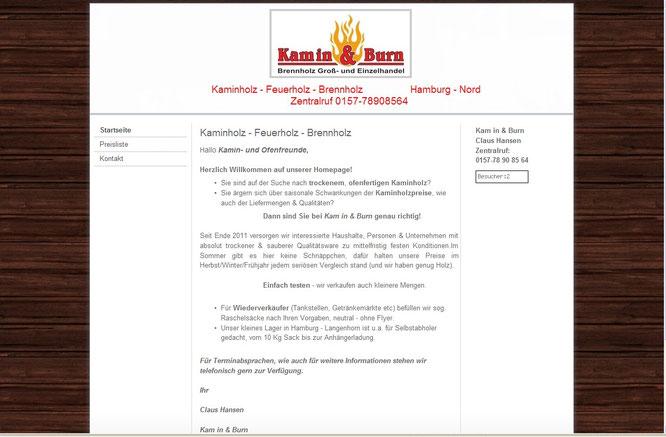 Kam in & Burn 2012