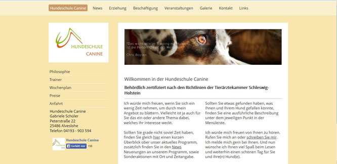 Hundeschule Canine