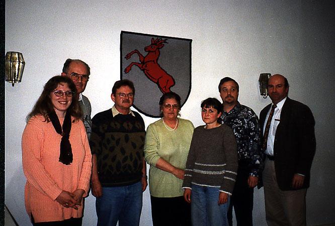 Der Vorstand bei der Gründung des Vereins