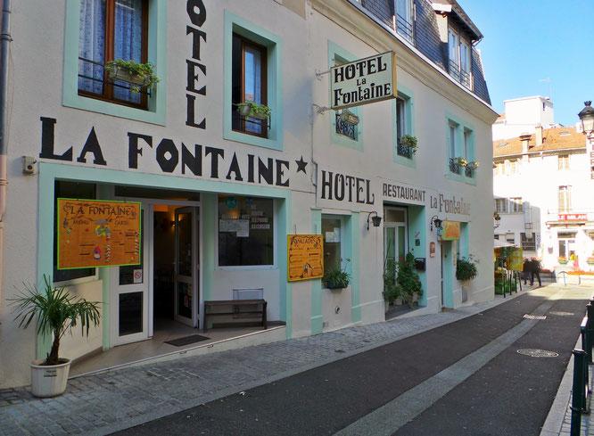Hôtels Lourdes LA FONTAINE
