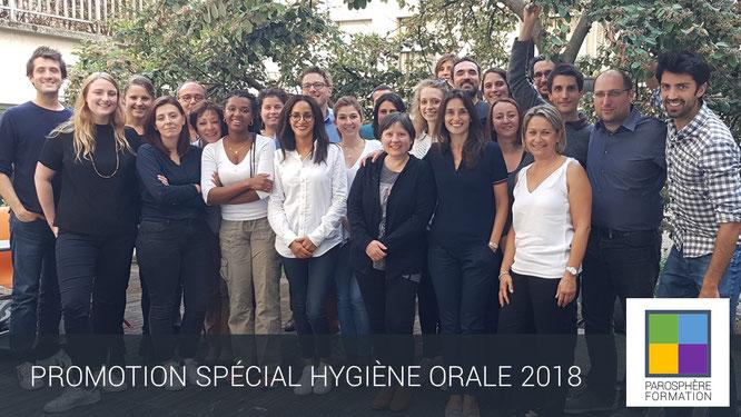 ParoSphère Formation | Spécial Hygiène orale 2018