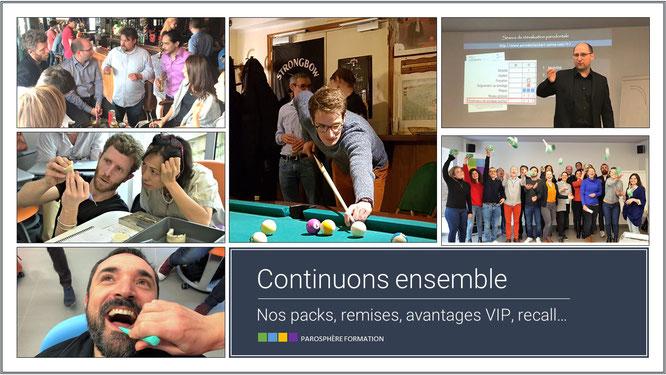 ParoSphère Formation | Remises, avantages, VIP...