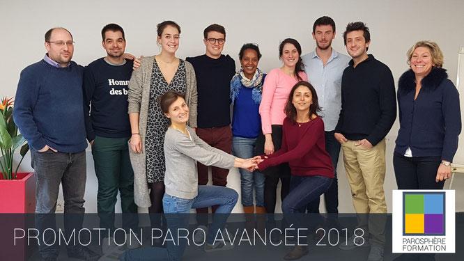 ParoSphère Formation | Paro Avancée 2018