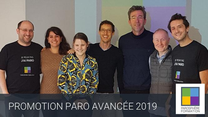 ParoSphère Formation | Promotion Paro Avancée 2019