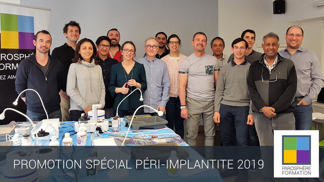 ParoSphère Formation | Spéciale Péri-implantite 2019