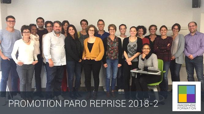 ParoSphère Formation | Paro Reprise 2018-2