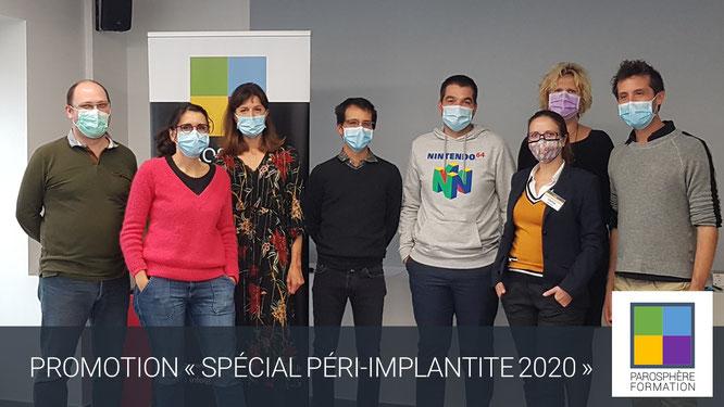ParoSphère Formation   Péri-implantite 2020