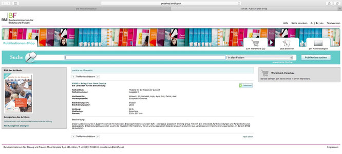 Publikationen-Shop BM:BF