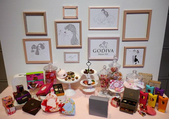 GODIVAバレンタインコレクション2019