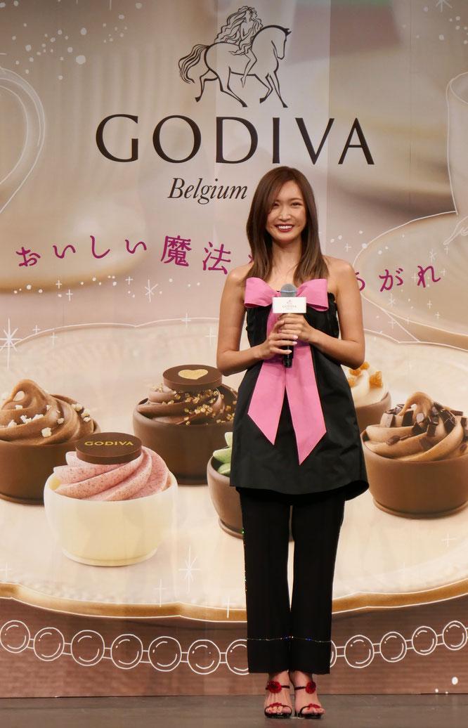 タレントの紗栄子がゲスト出演