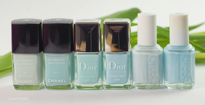 swatch Dior BLEUETTE 301 Glowing Gardens Collection Spring 2016