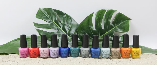 OPI • Fiji Collection • Spring / Summer 2017
