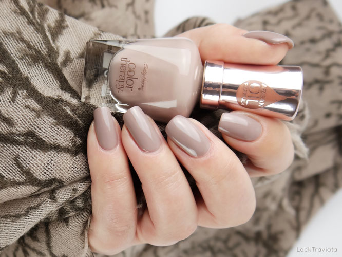 swatch Sally Hansen • Steely Serene • color therapy