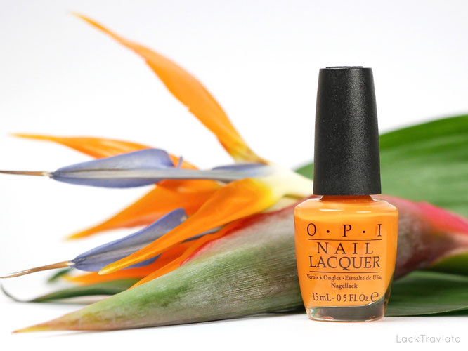 OPI • No Tan Lines • Fiji Collection • Spring / Summer 2017