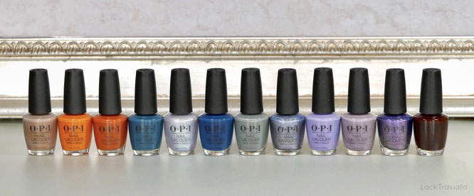 OPI • Muse of Milan Collection (fall/winter 2020)