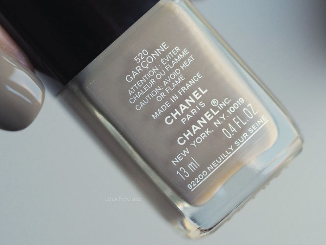 swatch CHANEL GARCONNE 520