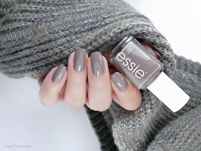 essie • easily suede (EU 661) • Sweater Weather Collection (fall 2019)