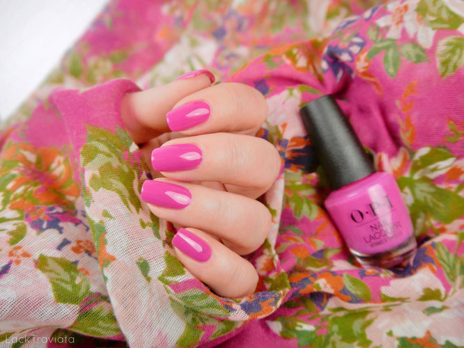OPI •  No Turning Back From Pink Street (NL L19) • OPI Lisbon Collection Spring 2018