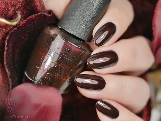 OPI • Midnight in Moscow (NL R59) • Russian Collection (fall 2007)