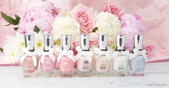 Sally Hansen • And She Said Yes • Hochzeits-Collection wedding 05/2017