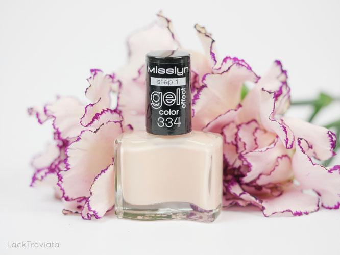 Misslyn • barefoot  • gel effect color No. 334