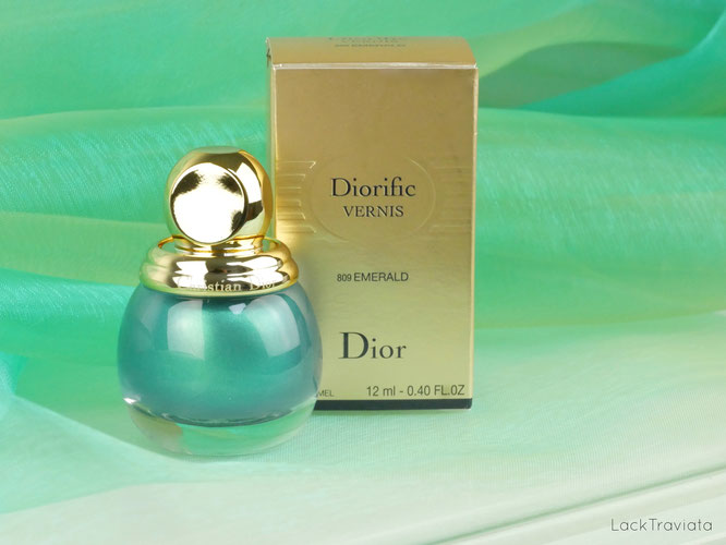 Dior • EMERALD 809 • Diorific VERNIS • Precious Rocks Collection • Holiday 2017
