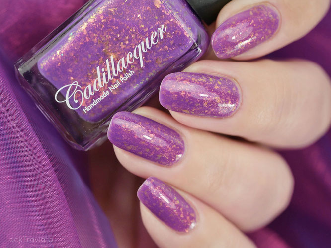 Cadillacquer • Choose to be Happy (Summer Flakies Collection 2020)