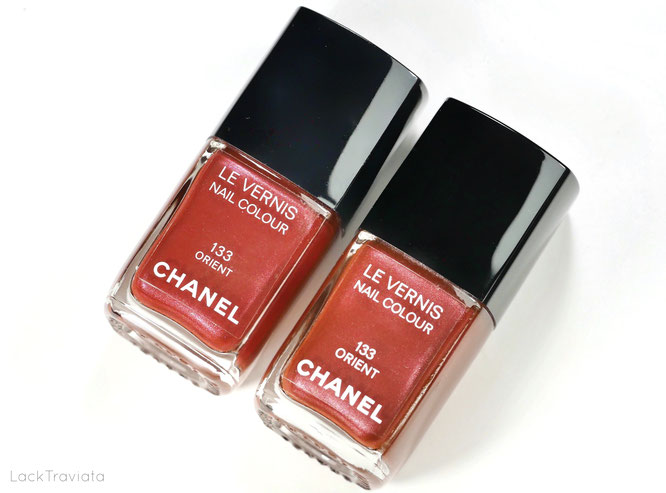 CHANEL • ORIENT 133 (made in France) • spring 2004 • Comparison made in France vs. made in U.S.A.