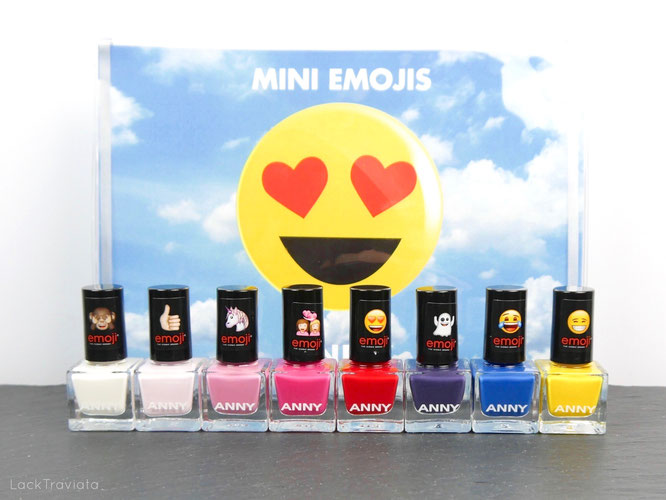 ANNY •  Mini Emojis Collection 02/2017
