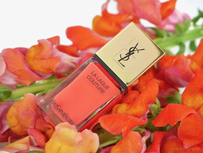 YSL Yves Saint Laurent • ORANGE TRANSE 115 • Luxuriant Haven Collection (summer 2019)