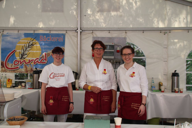 Das Team der Bäckerei Conrad