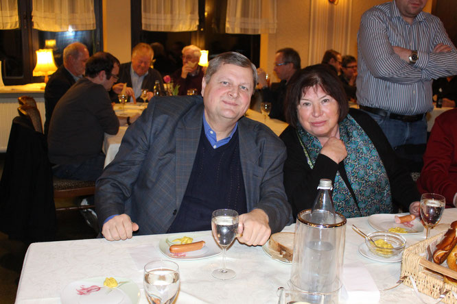 Hermann Scharf und Sigrid Morsch