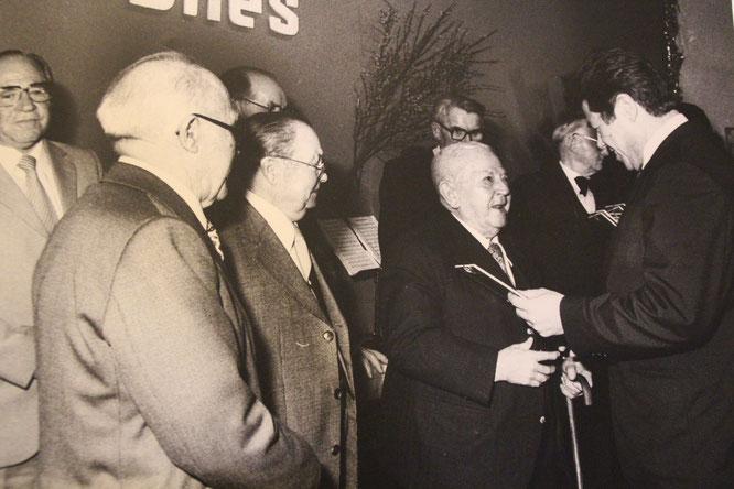 Josef Bier zweiter von rechts