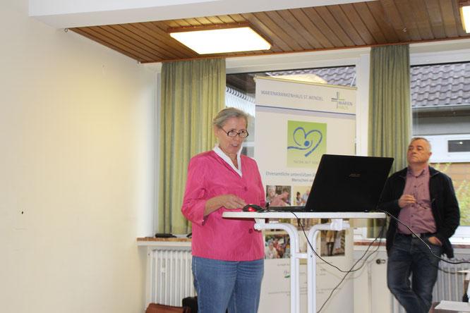 Frau M. Klein vom Pflegestützpunkt