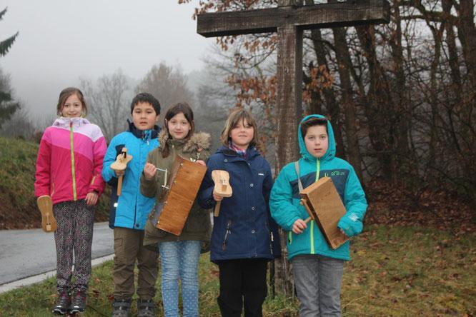 von links: Lilly, Jan, Josephine, Johanna und Tim