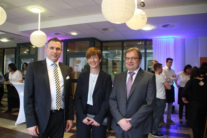 Stephan Rausch mit Frau Marianne und Michael Maurer