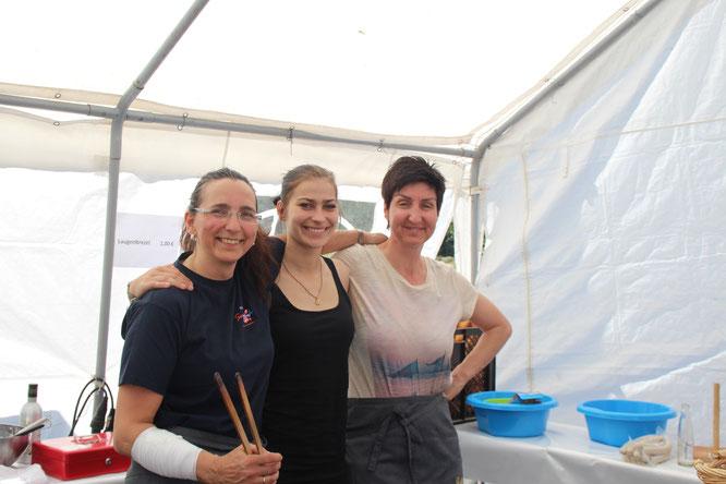 Andrea, Helena und Sabine vom DJK