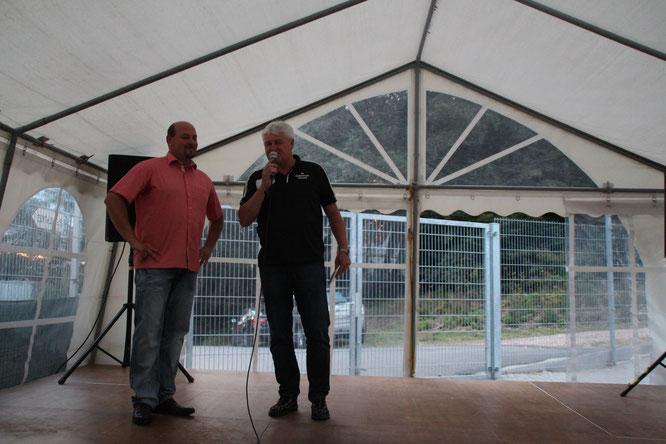 Michael Theobald mit Hans-Peter-Wack