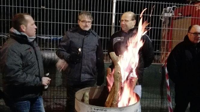 v.links Dietmar Korn, Guido Schaadt, Ingo Wensky und Karsten Grob