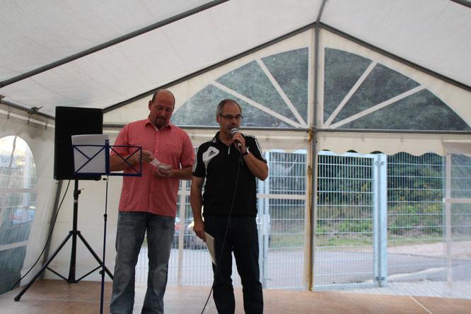Michael Theobald und Fred Koch