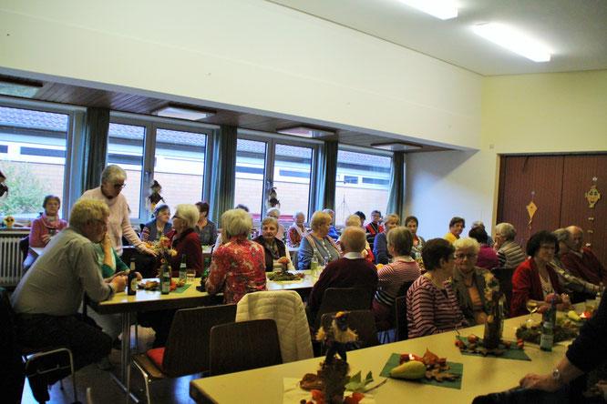 Mitglieder vom Kneipp-Verein im Dorfgemeinschaftshaus
