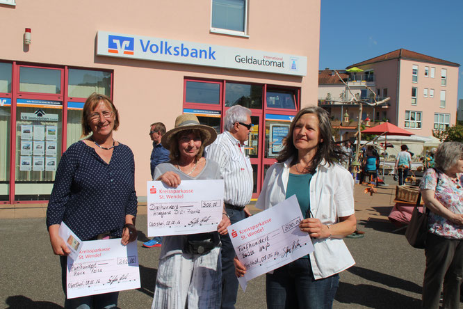 Gewinner des diesjährigen Wettbewerbes: Karin Reiß, Hildegard Dill Franke und Beate Weiß