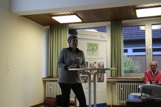 Frau Monika Krächan vom Marienkrankenhaus in St.Wendel