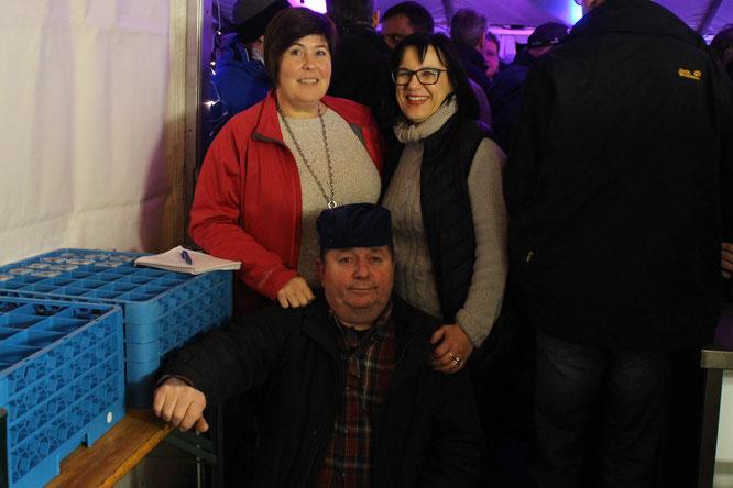 Vom Vorstand: Jutta Dreher, Petra Kunrath und Norbert Hoffmann