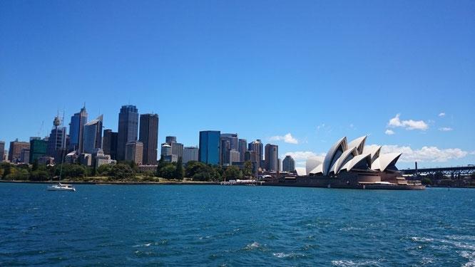 Sydney Skyline und Opera House