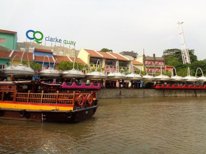Clarke Quay, Singapore, daytime